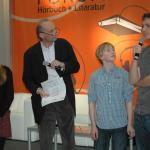 """Das """"nahhörmal Kinderensemble"""" und Dr. Michael Köhler"""