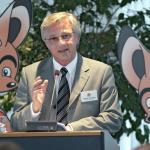 Prof. Karl Karst (Vorsitzender der INITIATIVE HÖREN, Programmchef WDR 3) (© Uwe Völkner)
