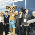 Das KiKa Filmteam mit den Trägern Mechthild Appelhoff und Prof. Karl Karst