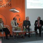 v.l.n.r.: Mechthild Appelhoff, Michael Köhler Prof. Karl Karst, Martin Recker