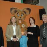 v.l.n.r.: Martin Recker, Mechthild Appelhoff, AUDITORIX, Julia Böcker, Prof. Karl Karst