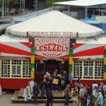 AUDITORIX Hörbuchsiegel 2010 - Lesezelt des Börsenvereins auf der Frankfurter Buchmesse