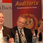 Podium v.l.n.r: Thomas Hackenberg, Martin Recker, Mechthild Appelhoff