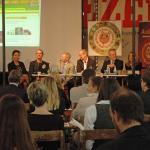 AUDITORIX Hörbuchsiegel 2010 - Podium Preisverleihung