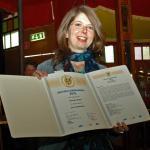 "AUDITORIX Hörbuchsiegel 2010 an ""Oetinger Media"" – Judith Kaiser"