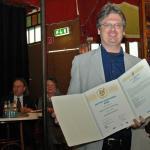 """AUDITORIX Hörbuchsiegels 2010 an """"steinbach sprechende bücher"""" - Guido Heidrich"""